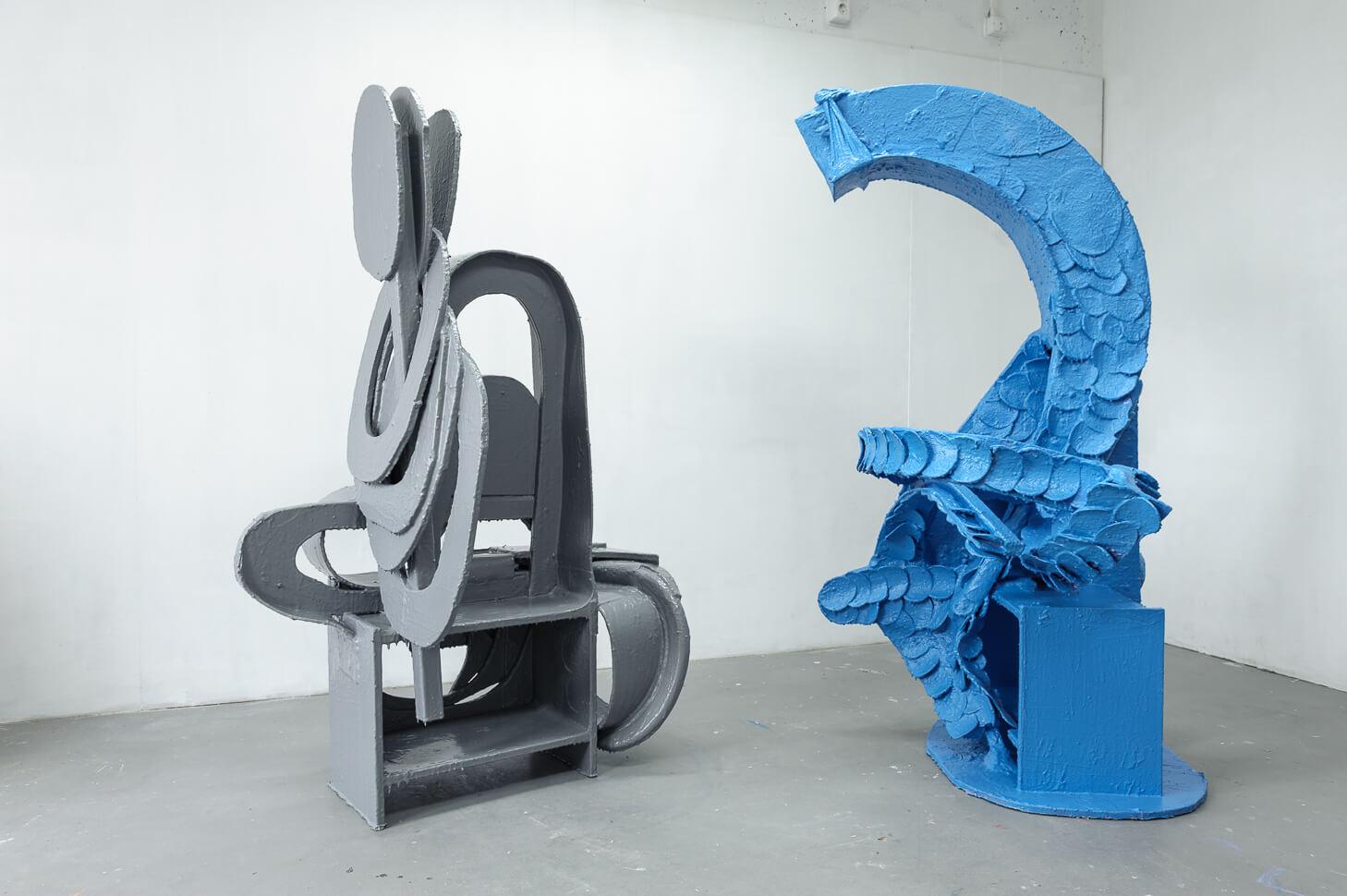 Sculptures 2010-2012-2