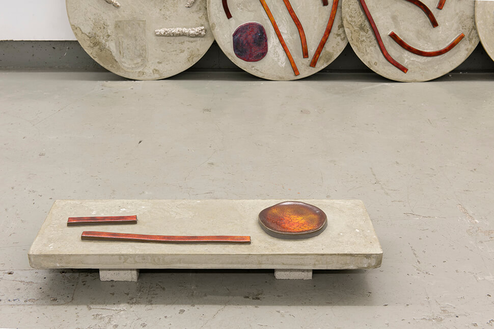 Charlotte Mumm, so oft so soft,Kunststiftung Erich Hauser, 2018
